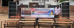 KIDS AND FUTURE FOUNDATION DONATES MATERIALS TO PRIMARY SCHOOLS