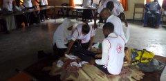 Red Cross Assists 3, 000 Demonstrators
