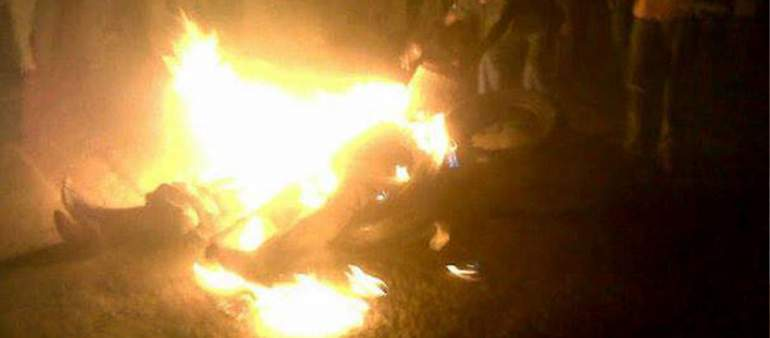 Suspect Thief Torched For Stealing Fresh Maize in Ntcheu