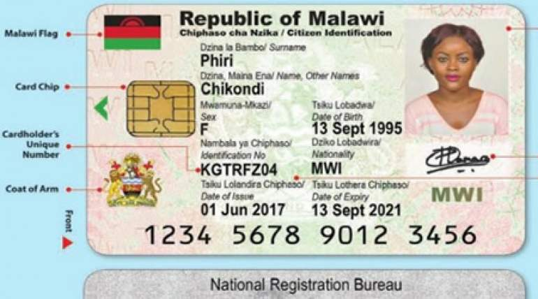 Most service providers in the country are now demanding the national identity card for service provision