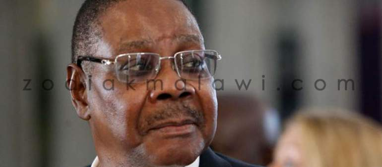 Mutharika: Ship in troubled waters