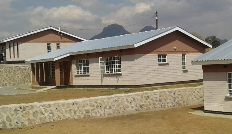 MHC houses that DEC Construction constructed at Ngumbe in Blantyre
