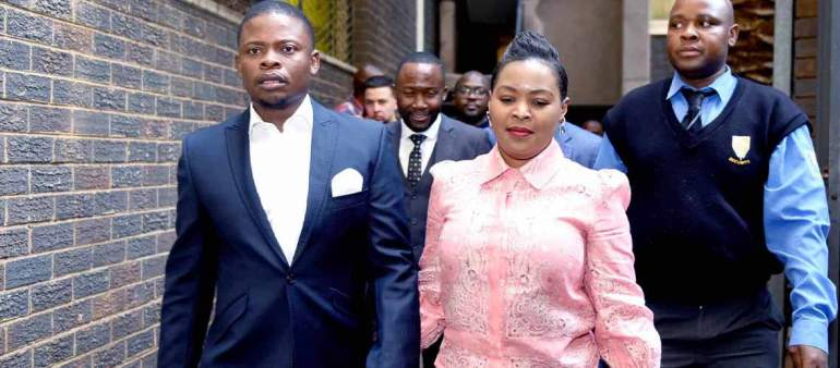 Prophet Shepherd Bushiri and his wife Mary