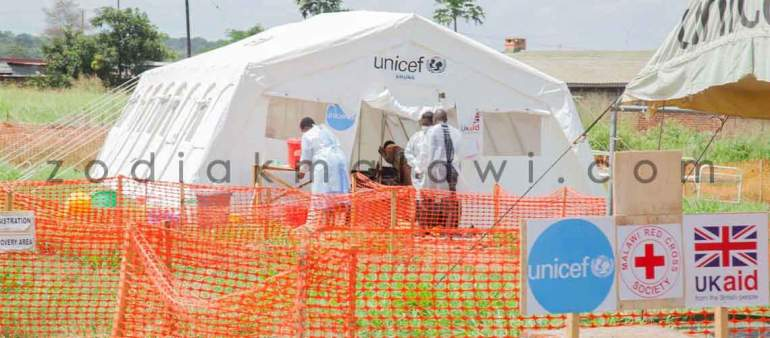 Cholera: Has been an annual occurence in Malawi in the past