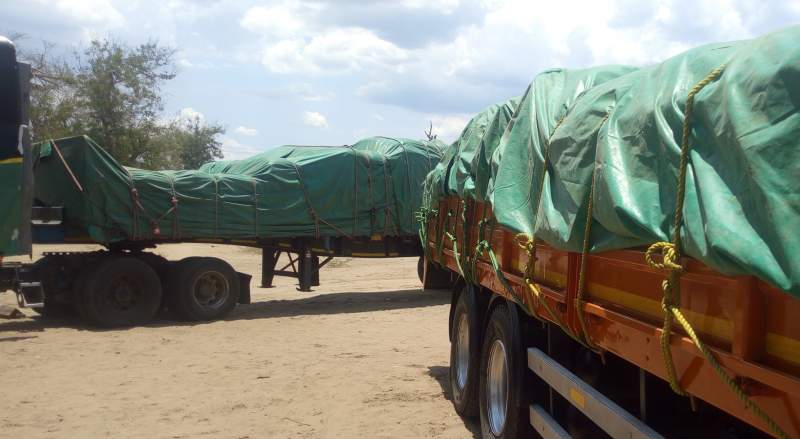 The trucks were en route to Blantyre from Chikwawa