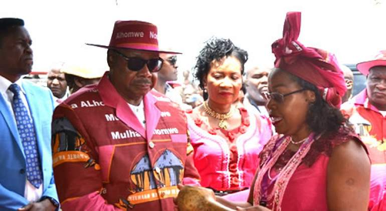 Mutharika during previous celebration