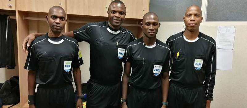 Kanduku Attends CAF Elite B Referees Online Course