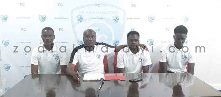 Silver Strikers Unveil Davie,Kamanga and Singini