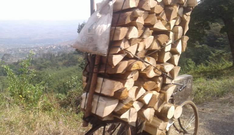 This is a common sight in Malawi's major mountains; this picture was taken in Zomba mountain