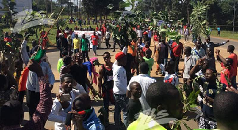 Malawians have been holding violent protests over the disputed elections