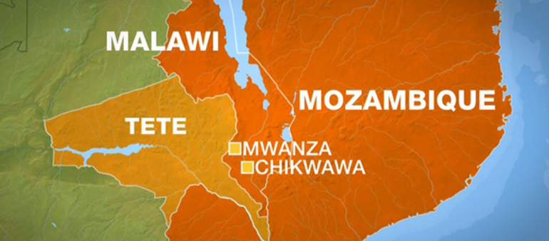 Malawi and Mozambique share a boundary