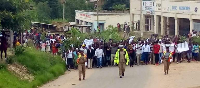 Mzimba protests: Turned nasty later