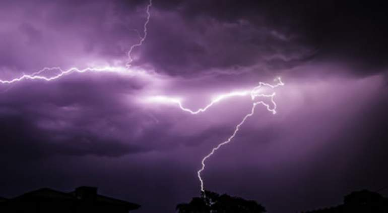 Paul Wilfred was struck by the lightning when he went to his garden on Thursday evening